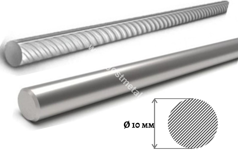 Стоимость арматуры 10 мм в ГОСТ Металл зависит от марки проката