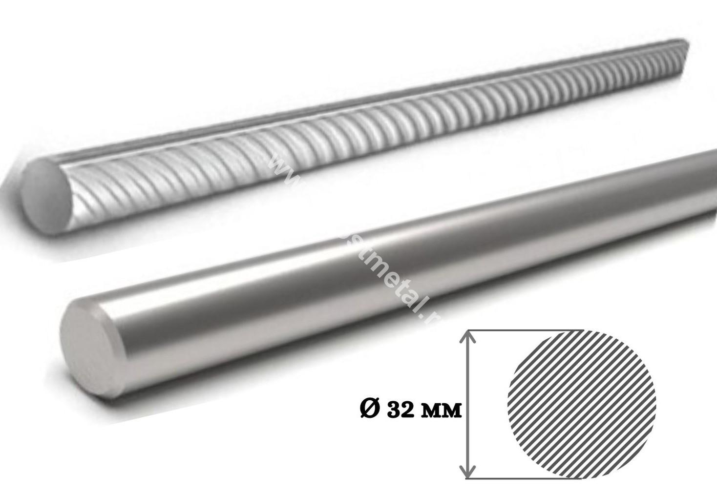Сколько весит метр 32 арматуры гладкой или рифленой узнайте в ГОСТ Металл 7(495)374-91-55