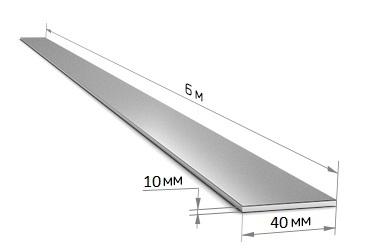 Полоса 40 х 10 (6 м)