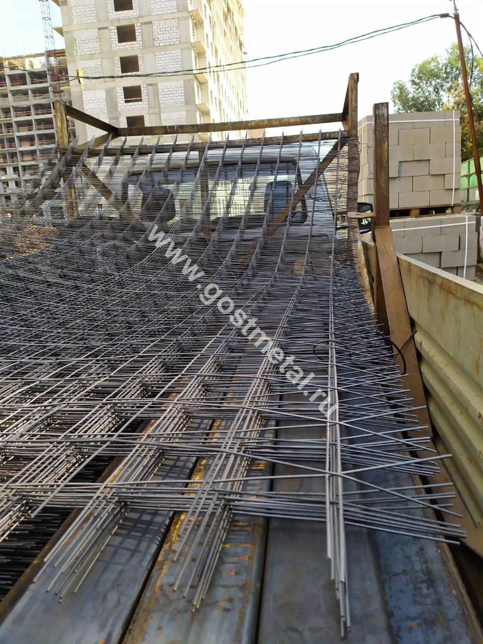Армирующая сетка на стройку в Восточном районе Москвы