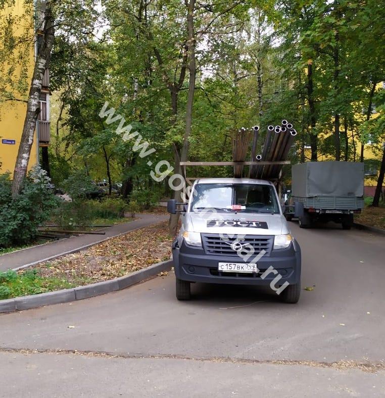Доставка круглых труб в город Чехов МО