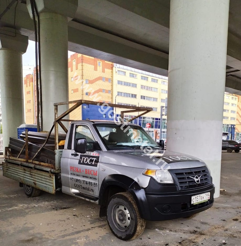 Доставка труб ГОСТ Металл Центральный округ Москвы