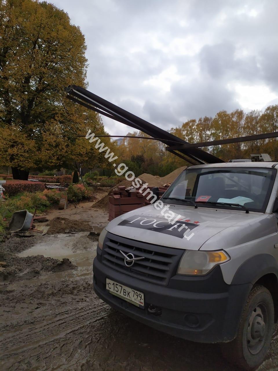 Профильные уголки для ремонта сквера на юге Москвы