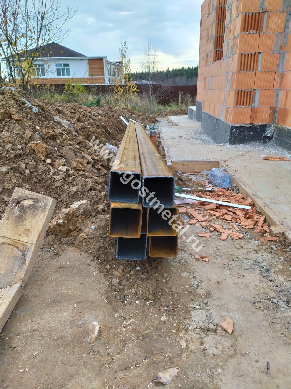 Трубы квадратные по выгодной цене в Пушкинский район