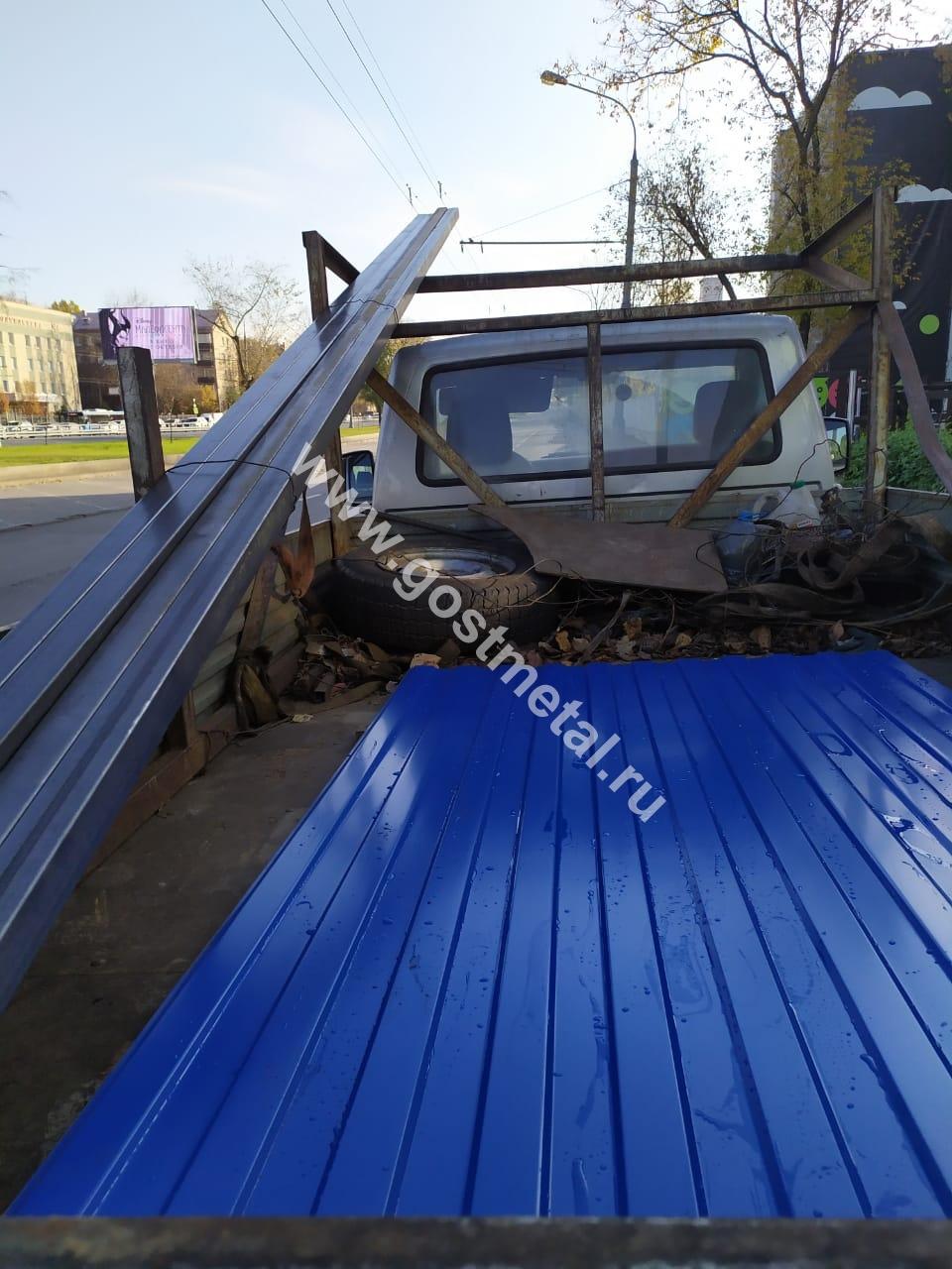 Профнастил с доставкой по Московской области в поселок Ашукино
