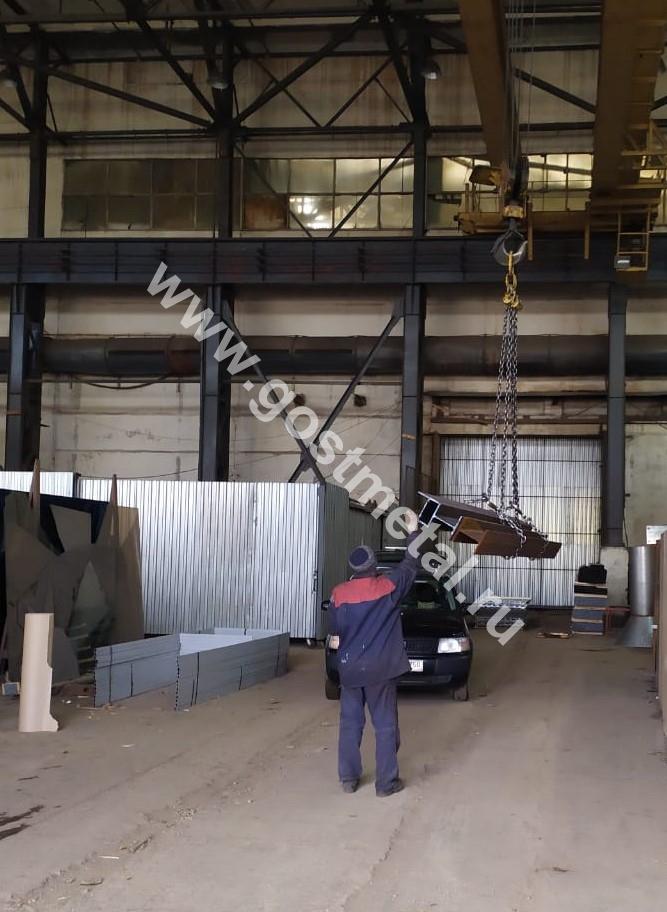 Временное хранение металлопроката на складе ГОСТ Металл в Московской области