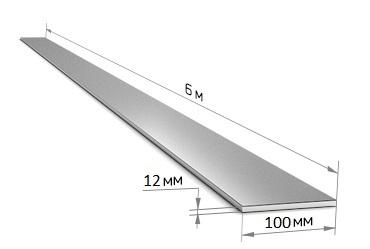 Полоса 100 х 12 (6 м)