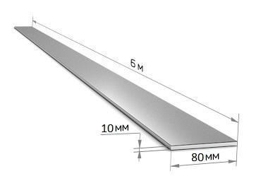 Полоса 80 х 10 (6 м)