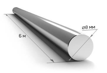 Арматура 8 мм А240 6 метров