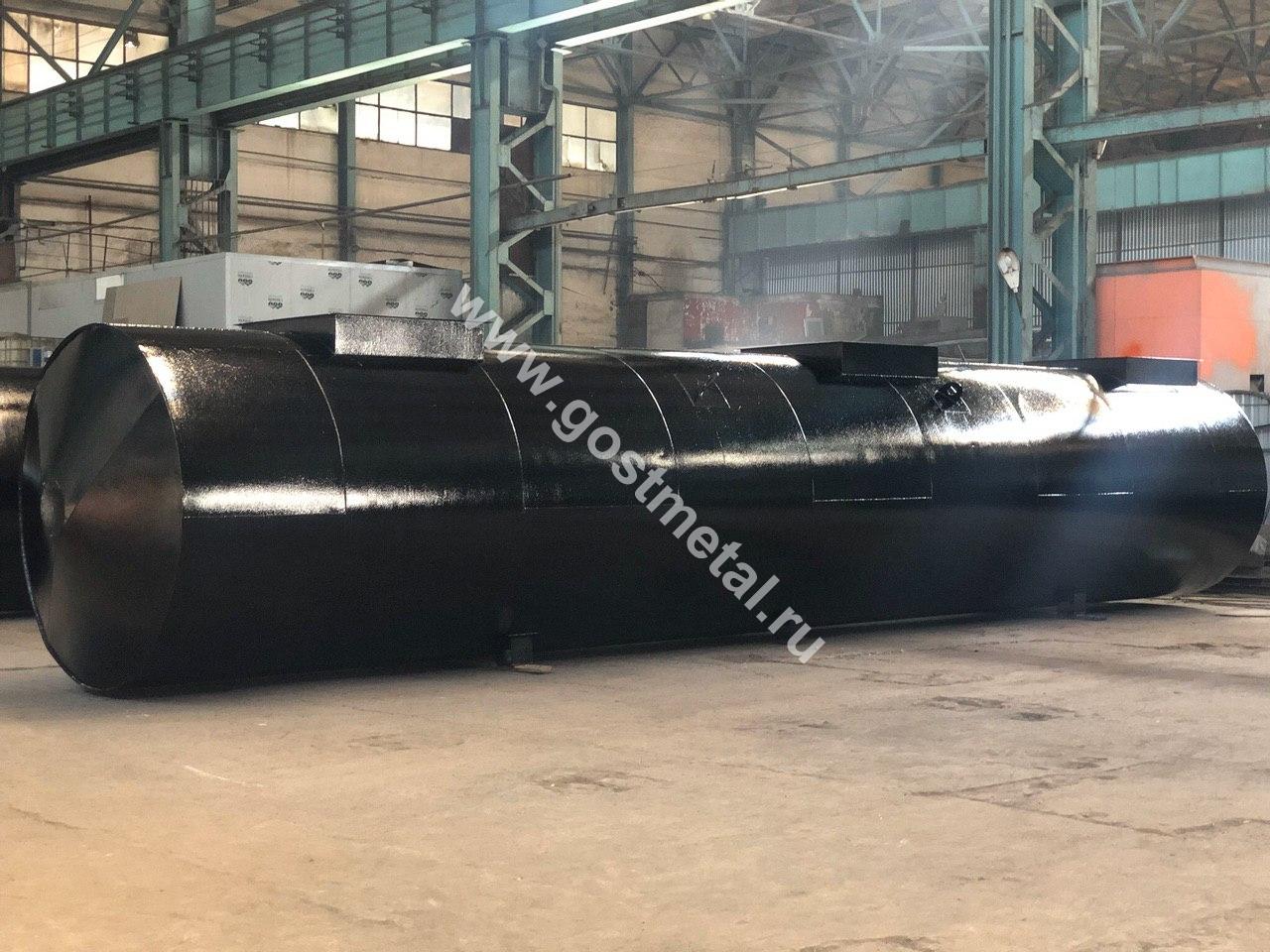 Резервуары РГС стальные от производителя в Москве