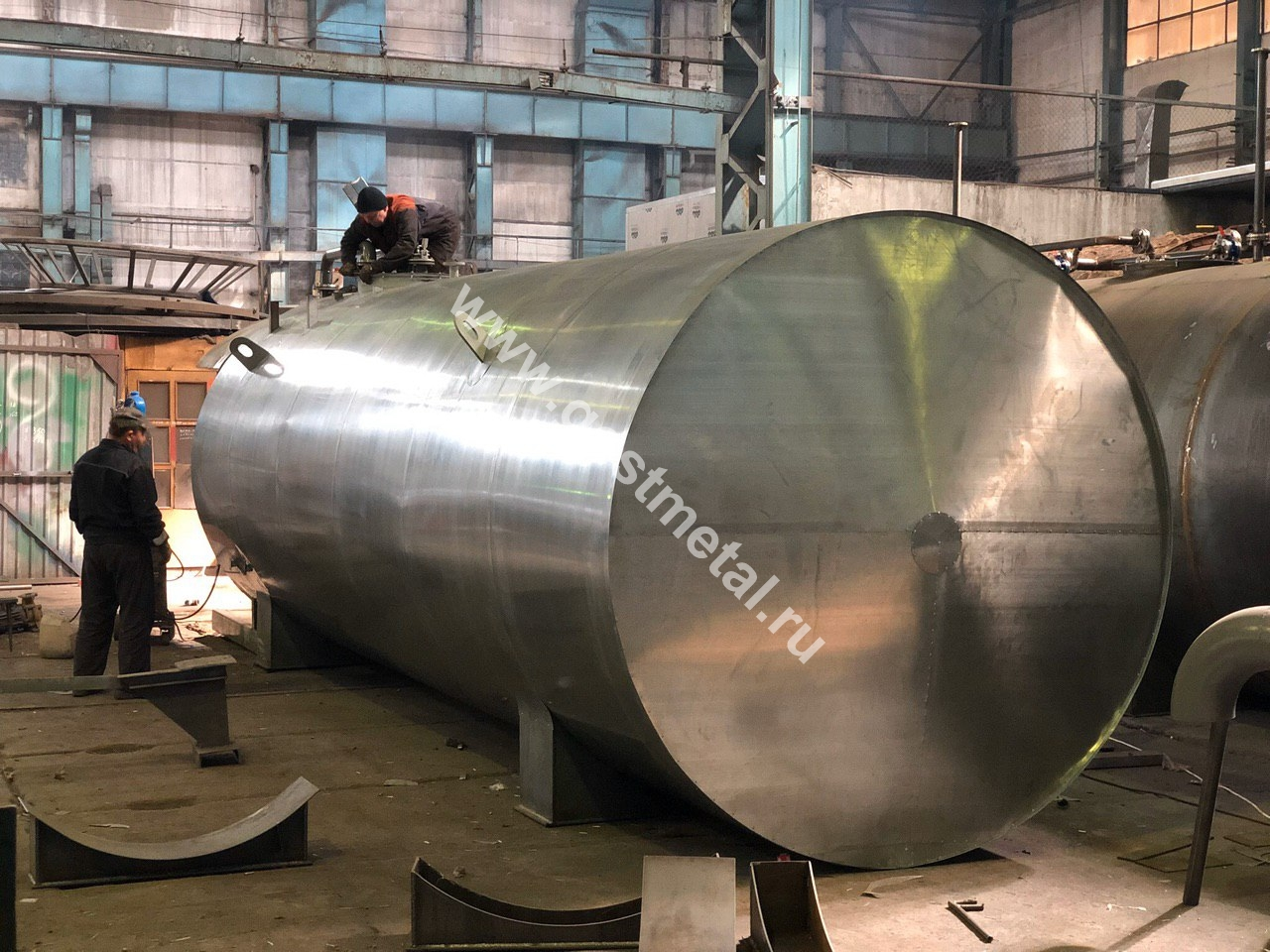Резервуар РГС из нержавейки в Москве от ГОСТ Металл