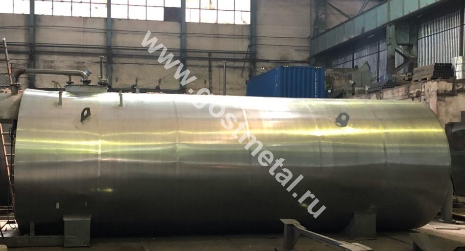 Стальной резервуар РГС-5 от производителя в Москве ГОСТ Металл
