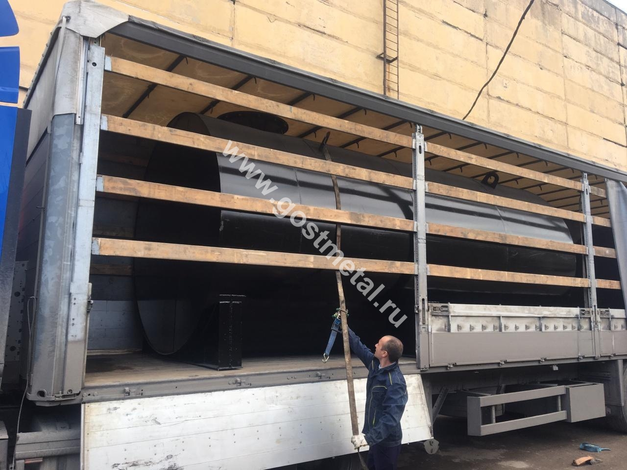Доставка стальных емкостей во все регионы России от ГОСТ Металл