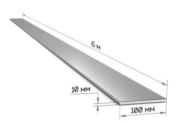 Полоса 100 х 10 (6 м)