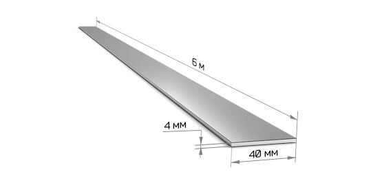 Полоса 40*4 (6 м)