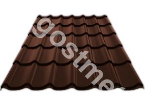 С21 0,5x1000x2000 RAL 8017 шоколадно-коричневый