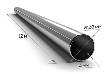Труба электросварная 108*4 (12 м)