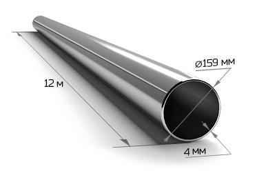 Труба электросварная 159*4 (12 м)