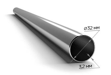 Труба ВГП оц. 32 х 3,2