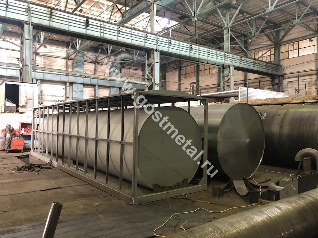 Изготовление металлических емкостей в Москве