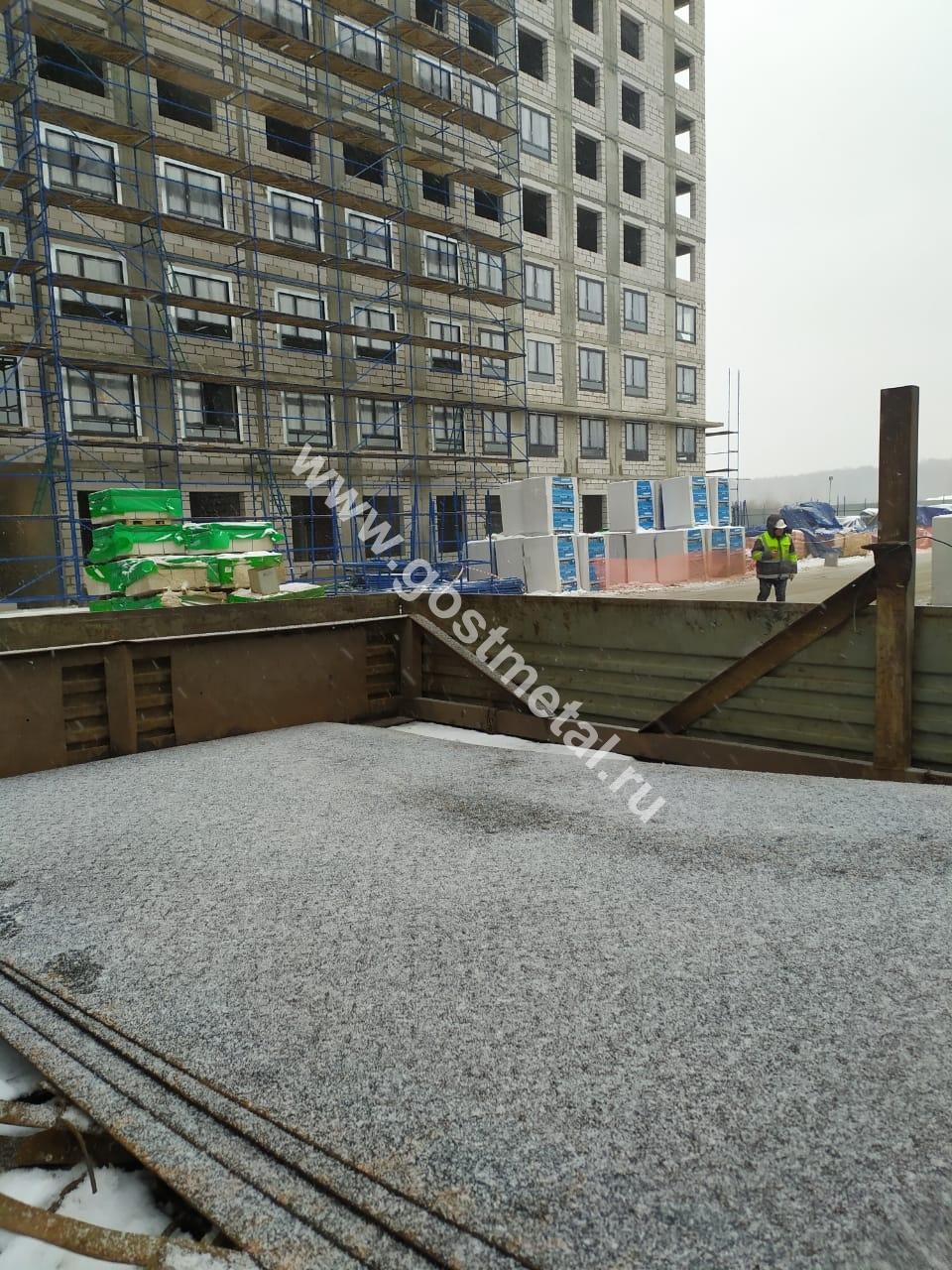 Рифленый лист с доставкой в Московской области