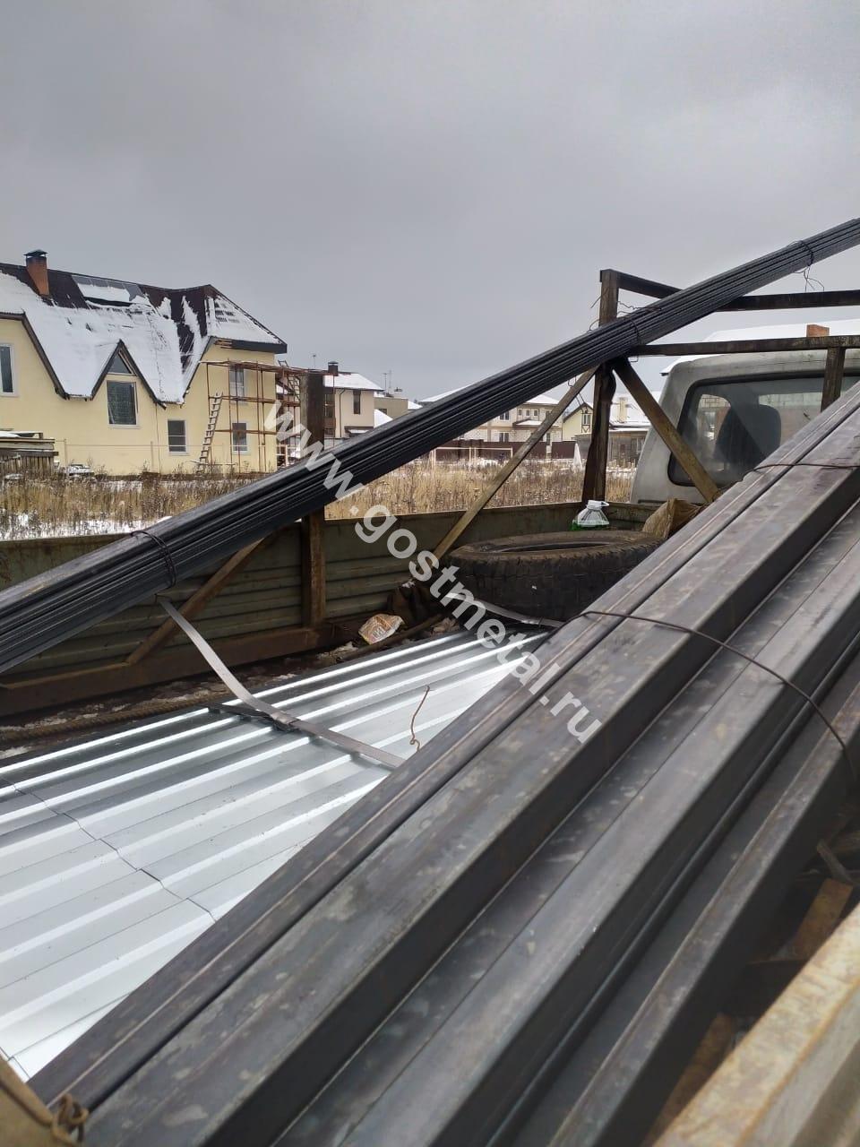 Профнастил и трубы с доставкой по всей России от ГОСТ Металл