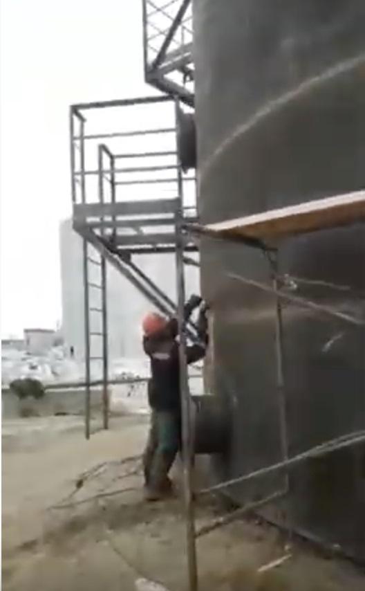 Резервуар вертикальный РВС 400