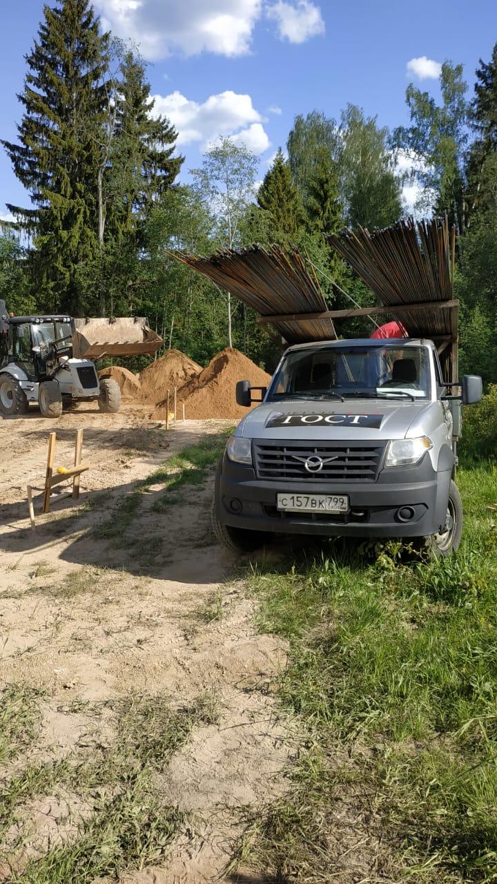 Доставка арматуры в коттеджный поселок Русская гавань