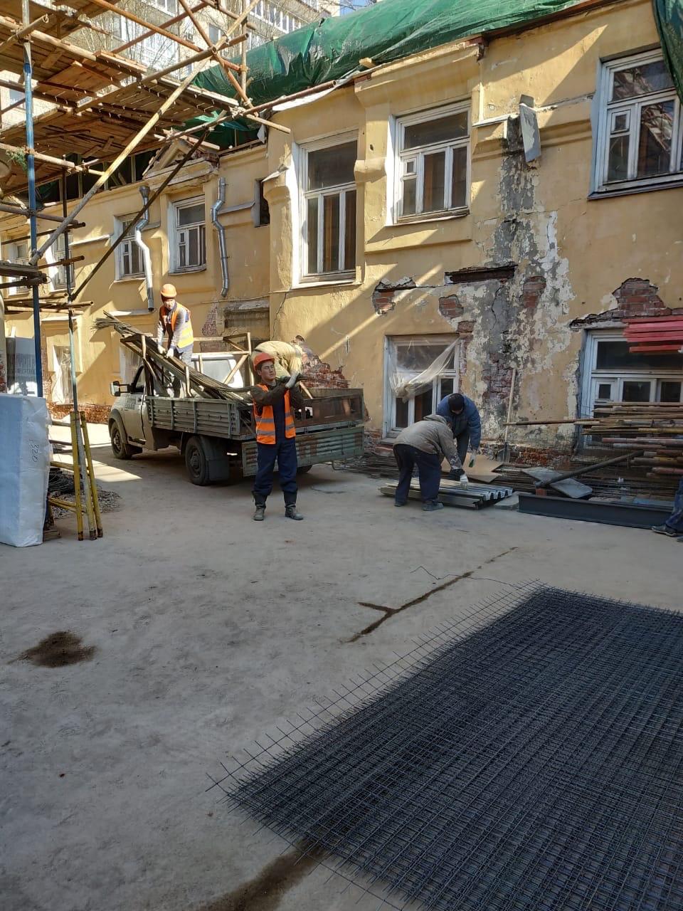 Реставрация усадьбы на Малой Полянке, 9 - фото