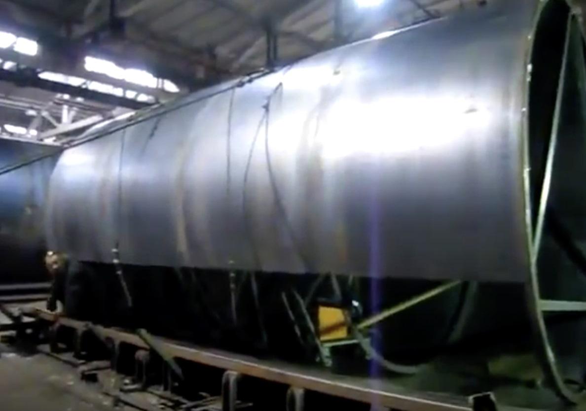 Резервуар горизонтальный РГС 15