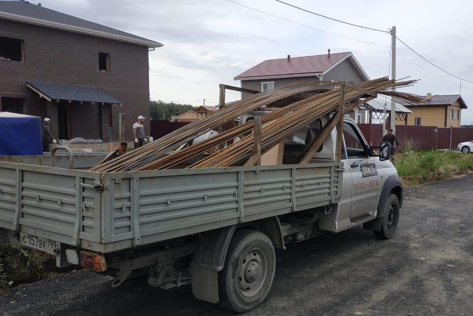 Доставка строительной арматуры в Никольское