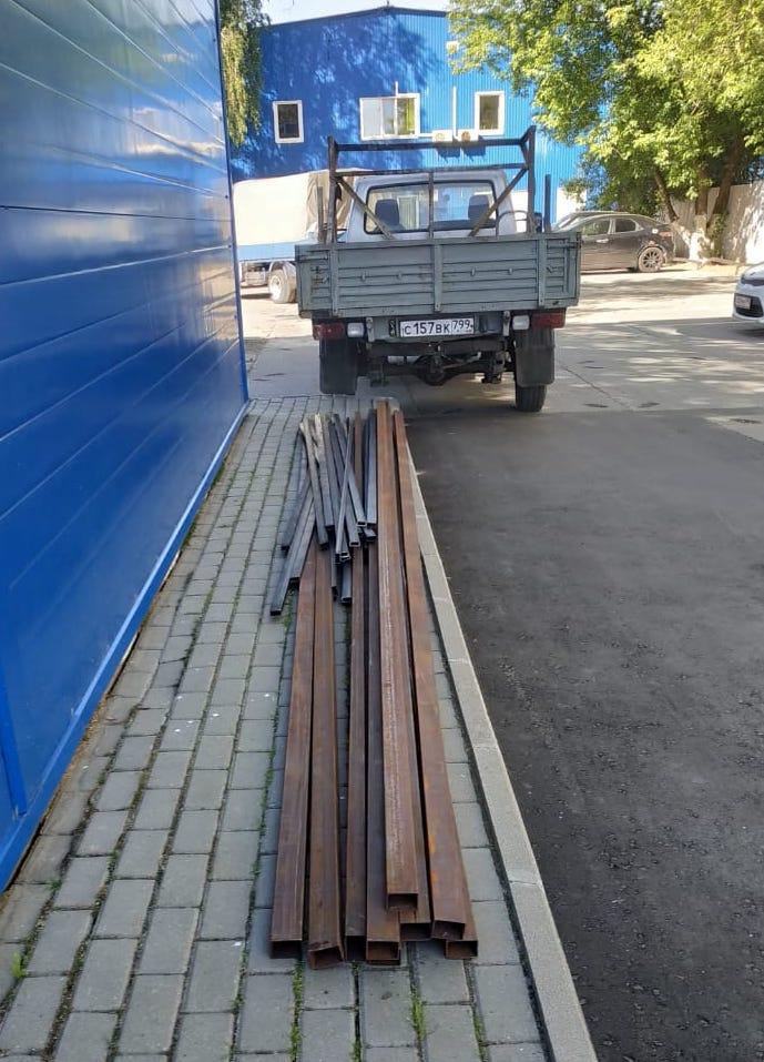 Доставка профильной и круглой трубы в деревню Сабурово, МО