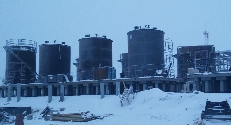 Резервуар стальной РВС-400