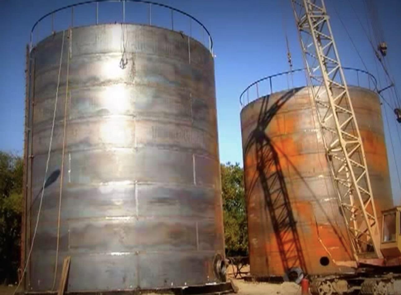 Резервуар стальной РВС-700