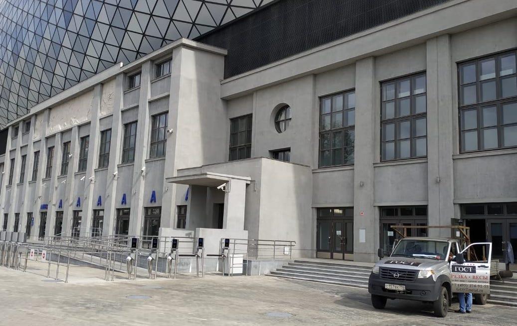 Доставка швеллера, уголка на стадион ВТБ Арена