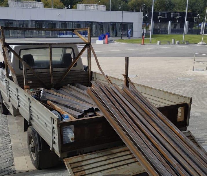Доставка металлопроката на ВТБ Арена Москва