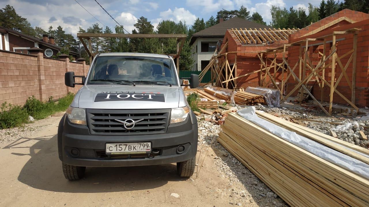 Строительство частного дома, мытищинский район
