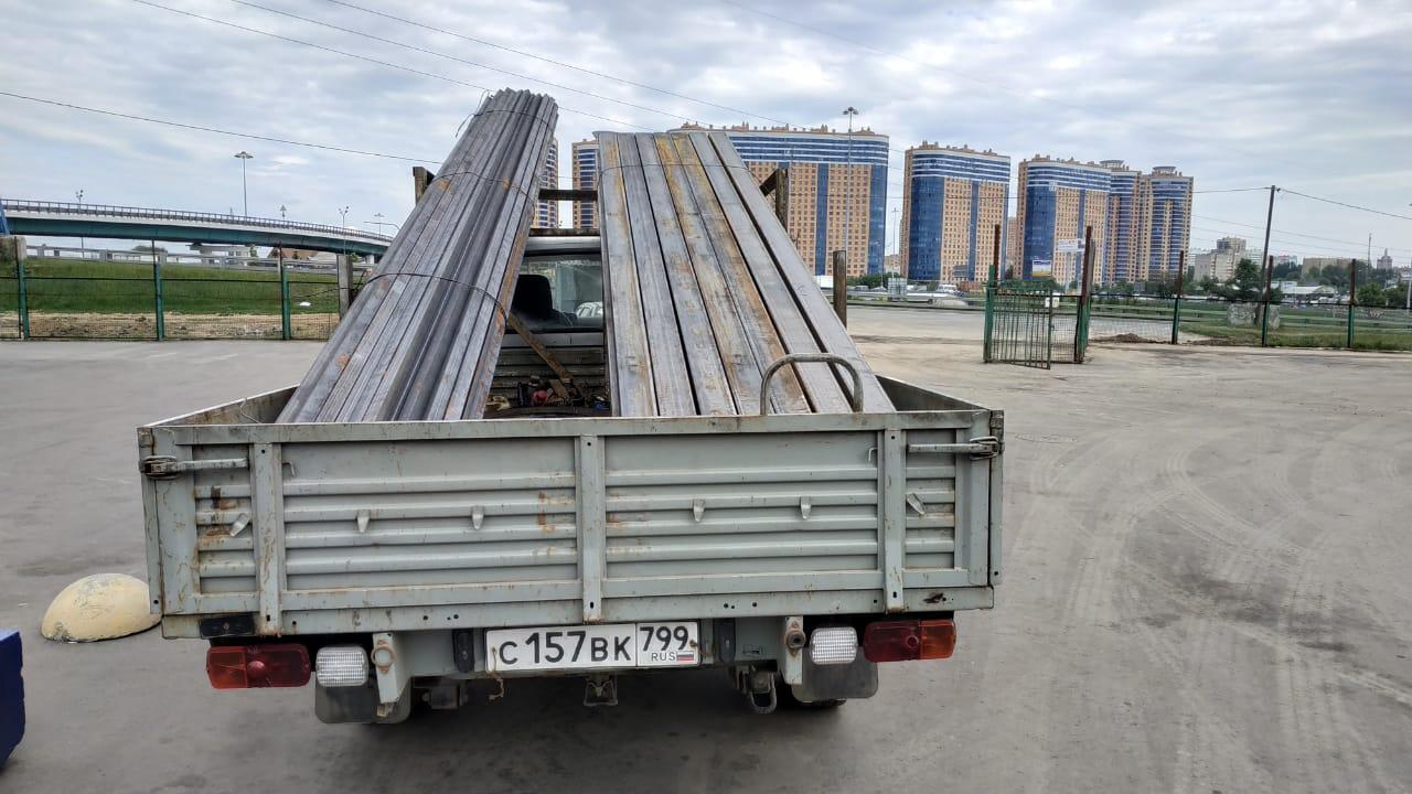 Доставка профильных труб для коммунального хозяйства Москвы